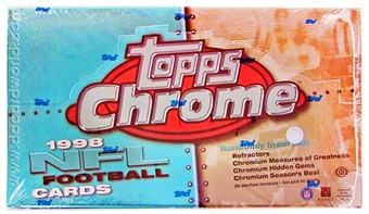1998 Topps Chrome Football Hobby Box