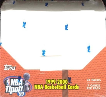1999/00 Topps NBA Tip-Off Basketball Hobby Box