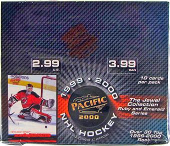 1999/00 Pacific Jewel Collection Hockey 24-Pack Box
