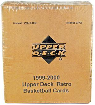 1999/00 Upper Deck Retro Basketball Hobby Box