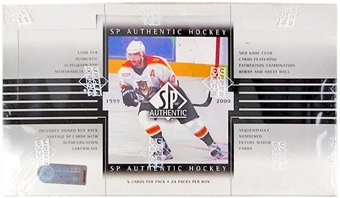 1999/00 Upper Deck SP Authentic Hockey Hobby Box