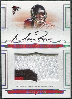 2008 Playoff National Treasures #111 Matt Ryan Rookie Autograph Patch 26/99