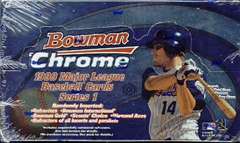 1999 Bowman Chrome Series 1 Baseball Hobby Box