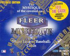 1999 Fleer Mystique Baseball Hobby Box