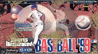 1999 Fleer Sports Illustrated Baseball Hobby Box