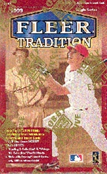 1999 Fleer Tradition Baseball Hobby Box