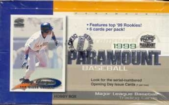 1999 Pacific Paramount Baseball Hobby Box