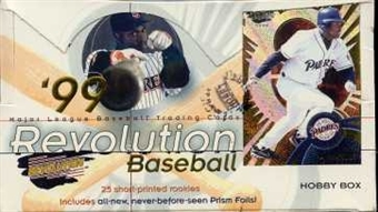 1999 Pacific Revolution Baseball Hobby Box