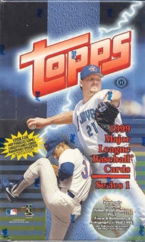 1999 Topps Series 1 Baseball Hobby Box