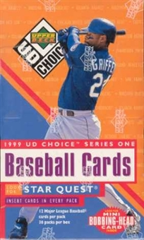 1999 Upper Deck Choice Series 1 Baseball Hobby Box