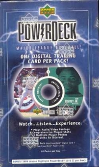 1999 Upper Deck PowerDeck Baseball Hobby Box