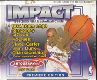 1999/00 Skybox Impact Basketball Hobby Box
