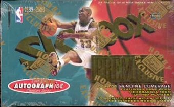 1999/00 Skybox Premium Basketball Hobby Box