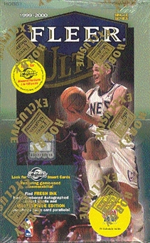 1999/00 Fleer Ultra Basketball Hobby Box