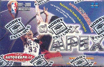 1999/00 Skybox Apex Basketball Hobby Box