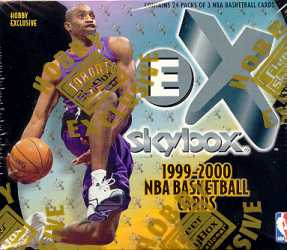 1999/00 Skybox E-X Basketball Hobby Box