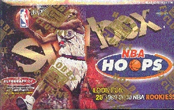 1999/00 Skybox Hoops Basketball Hobby Box