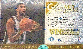 1999/00 Topps Gallery Basketball Hobby Box