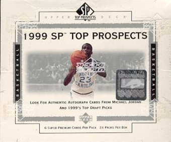 1999/00 Upper Deck SP Top Prospects Basketball Hobby Box