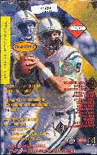 1999 Collector's Edge Masters Football Hobby Box