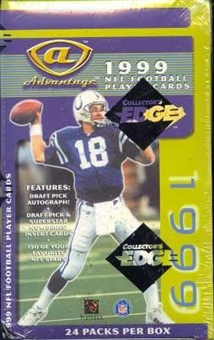 1999 Collector's Edge Advantage Hobby Football Box