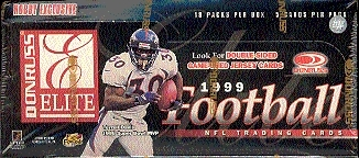 1999 Donruss Elite Football Hobby Box