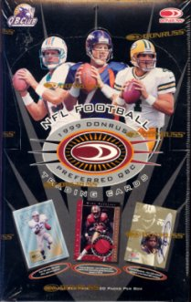 1999 Donruss Preferred QBC Football Hobby Box