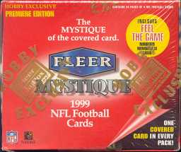 1999 Fleer Mystique Football Hobby Box
