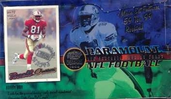 1999 Pacific Paramount Football Hobby Box