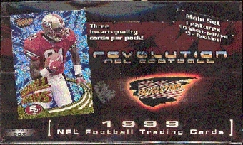 1999 Pacific Revolution Football Hobby Box