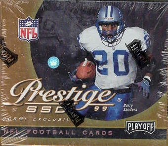1999 Playoff Prestige SSD Football Hobby Box