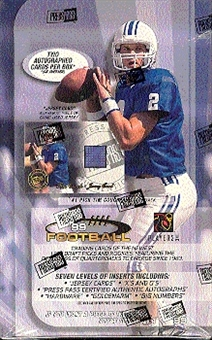1999 Press Pass Football Hobby Box