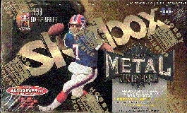 1999 Fleer Skybox Metal Universe Football Hobby Box