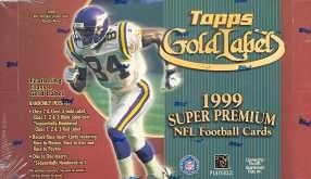 1999 Topps Gold Label Football 24 Pack Box