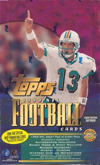 1999 Topps Football Jumbo Box