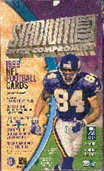 1999 Topps Stadium Club Football Hobby Box