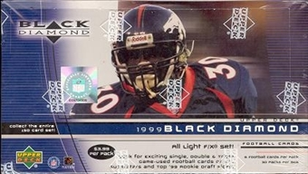 1999 Upper Deck Black Diamond Football 30-Pack Box