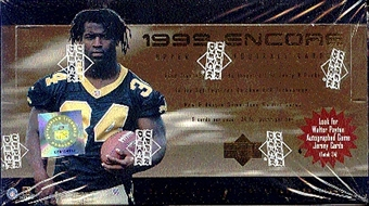 1999 Upper Deck Encore Football Hobby Box
