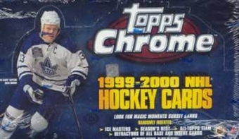 1999/00 Topps Chrome Hockey Hobby Box