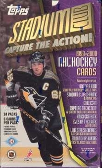 1999/00 Topps Stadium Club Hockey Hobby Box