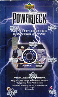 1999/00 Upper Deck Power Deck Hockey Hobby Box