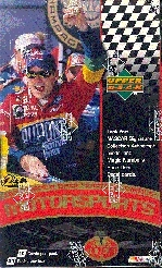 1999 Upper Deck Victory Circle Racing Prepriced Box