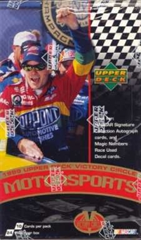 1999 Upper Deck Victory Circle Racing 24 Pack Box