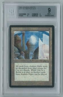 Magic the Gathering Arabian Nights Single City in a Bottle BGS 9 MINT (9.5, 9, 9, 9.5)