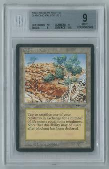 Magic the Gathering Arabian Nights Single Diamond Valley BGS 9 MINT (10, 9, 9, 9.5)