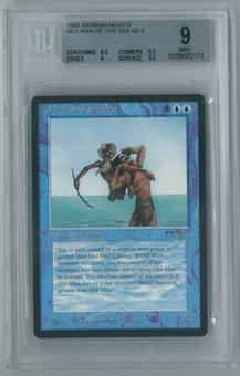 Magic the Gathering Arabian Nights Single Old Man of the Sea BGS 9 MINT (9.5, 8.5, 9, 9.5)