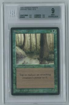 Magic the Gathering Arabian Nights Single Singing Tree BGS 9 MINT (9.5, 8.5, 9.5, 9.5)