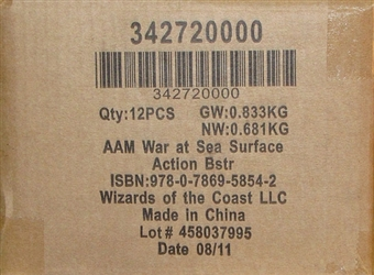 Axis & Allies Miniatures War at Sea Surface Action Booster Case (12 Ct)