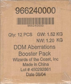 WOTC Dungeons & Dragons Miniatures Aberrations Booster Case (12 ct.)