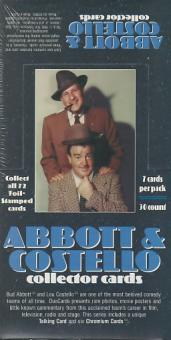 Abbott & Costello Hobby Box (1996 DuoCards)
